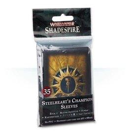 Games Workshop Warhammer Underworlds: Shadespire – Steelheart's Champions Sleeves