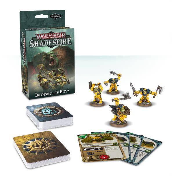 Games Workshop Warhammer Underworlds: Shadespire – Ironskull's Boyz