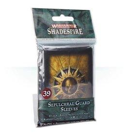 Games Workshop Warhammer Underworlds: Shadespire – Sepulchral Guard Sleeves