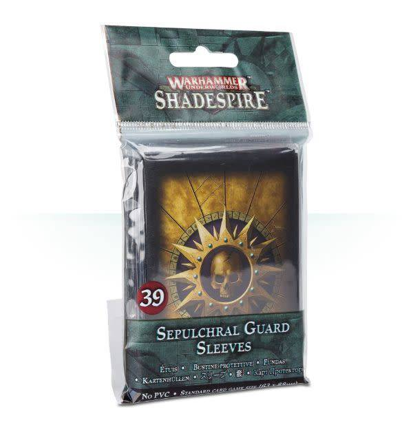 Games Workshop Warhammer Underworlds: Shadespire – Sepulchral Guard Sleeves