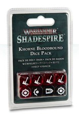 Games Workshop Warhammer Underworlds: Shadespire - Khorne Bloodbound Dice Pack