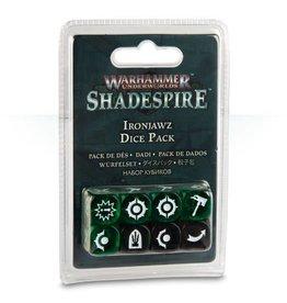 Games Workshop Warhammer Underworlds: Shadespire - Ironjawz Dice Pack
