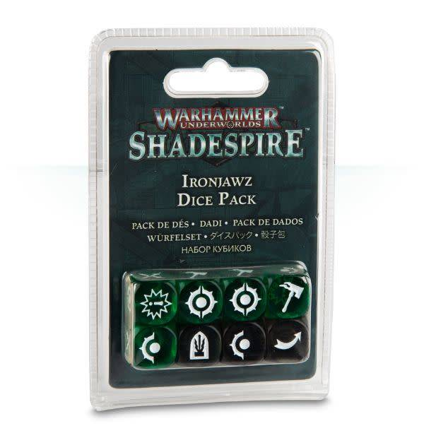 Games Workshop Warhammer Underworlds: Shadespire - Ironjawz Dice Pack