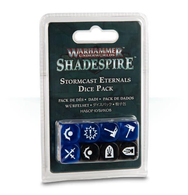Games Workshop Warhammer Underworlds: Shadespire - Stormcast Eternals Dice Pack