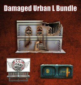 Frontline Gaming ITC Terrain Series: Damaged Urban L Bundle