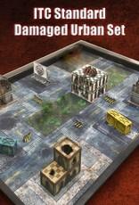 Frontline Gaming ITC Terrain Series: ITC Standard Damaged Urban Set
