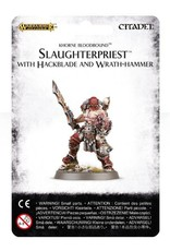 Games Workshop Slaughterpriest with Hackblade and Wrath-hammer