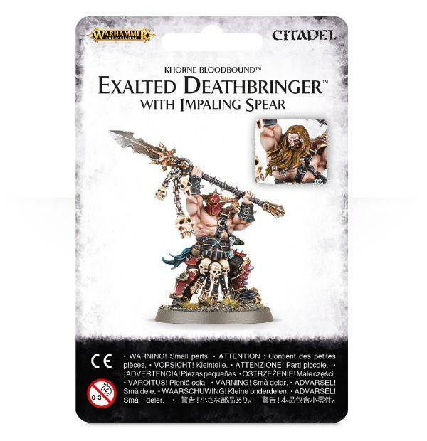 Games Workshop Exalted Deathbringer with Impaling Spear