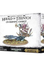 Games Workshop Herald of Tzeench on Burning Chariot