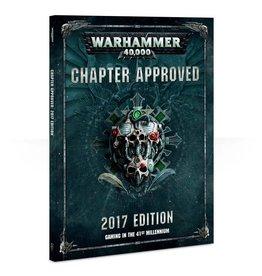 Games Workshop Chapter Approved 2017