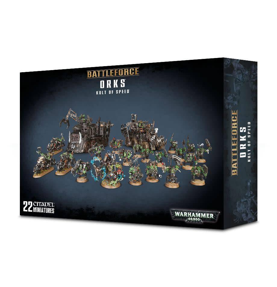 Games Workshop Battleforce Orks Kult of Speed