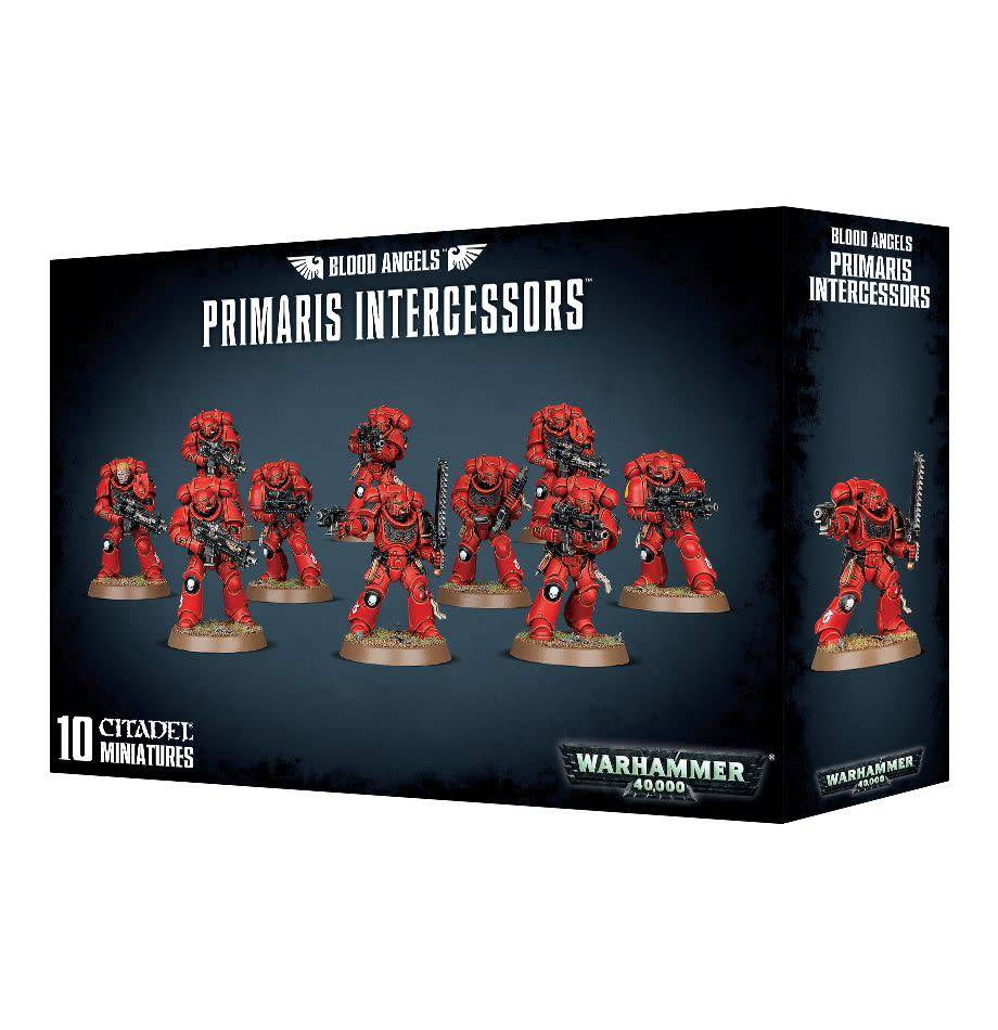 Games Workshop Blood Angels Primaris Intercessors