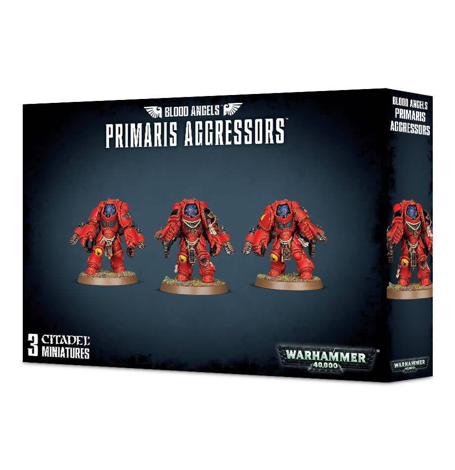 Games Workshop Blood Angels Primaris Aggressors