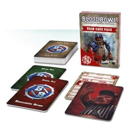 Games Workshop Blood Bowl Team Card Pack – Human Team