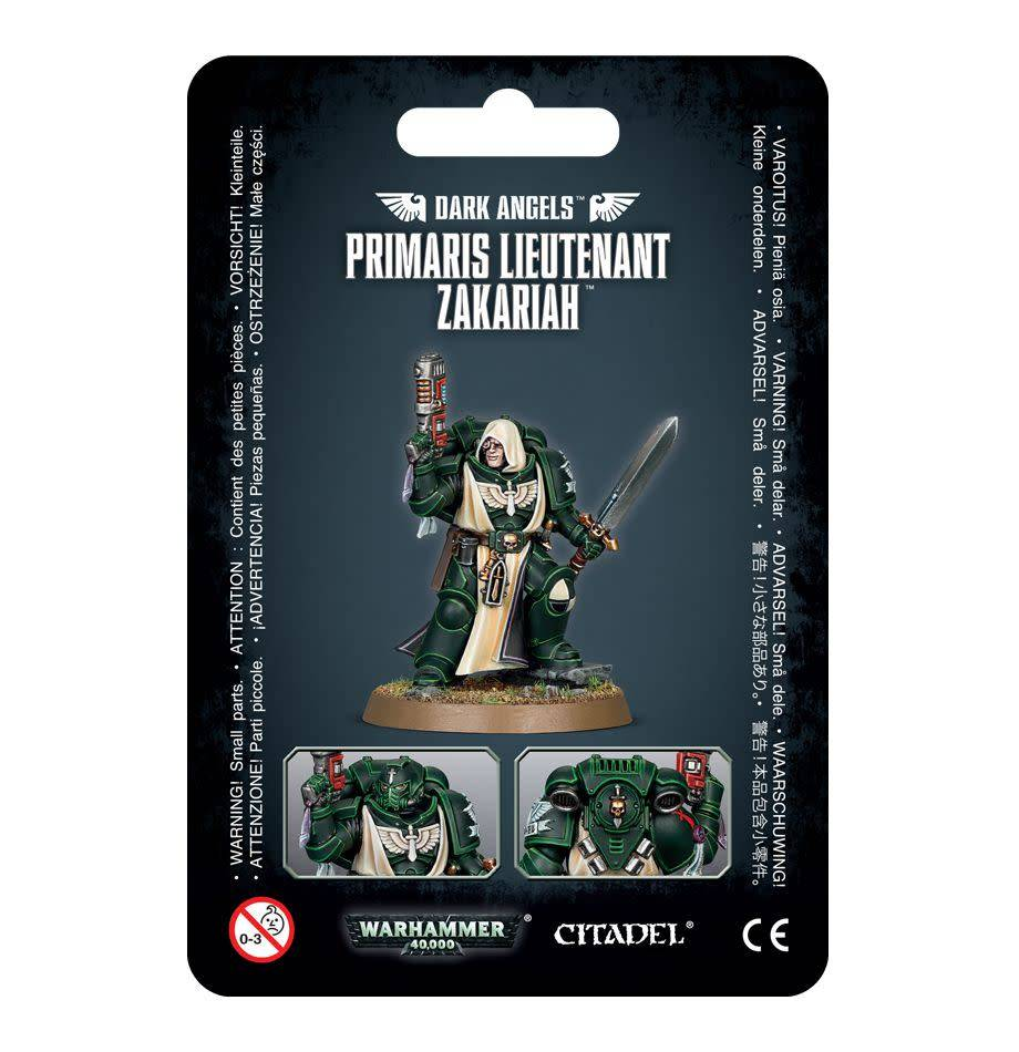 Games Workshop Dark Angels Primaris Lieutenant Zakariah