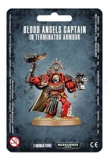 Games Workshop Blood Angels Captain in Terminator Armor