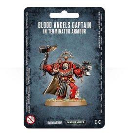 Games Workshop Blood Angels Captain in Terminator Armor