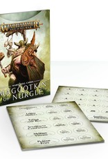 Games Workshop Warscroll Cards: Maggotkin of Nurgle