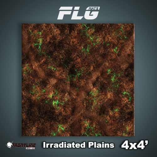 FLG Mats: Irradiated Plains 4x4'