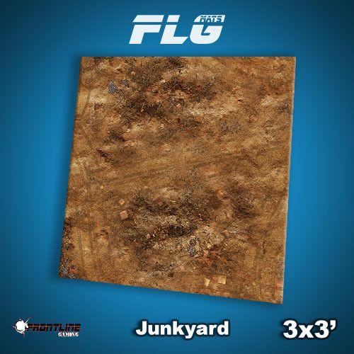 Frontline Gaming FLG Mats: Junkyard 3x3'