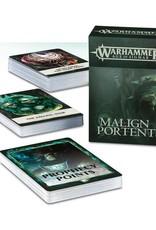 Games Workshop Malign Portents Cards