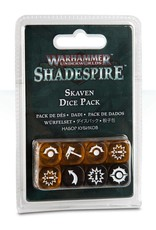 Games Workshop Warhammer Underworlds: Shadespire – Skaven Dice Pack