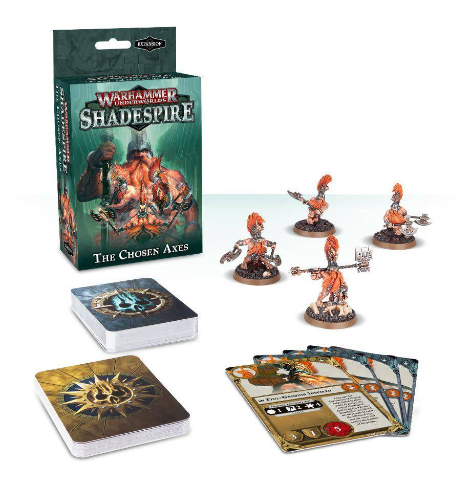 Games Workshop Warhammer Underworlds: Shadespire – The Chosen Axes
