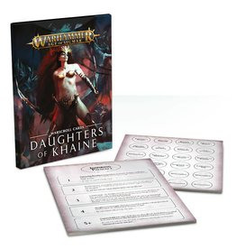 Games Workshop Warscroll Cards: Daughters of Khaine