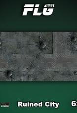 Frontline Gaming FLG Mats: Ruined City 6x3'