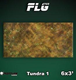 Frontline Gaming FLG Mats: Tundra 1 6x3'