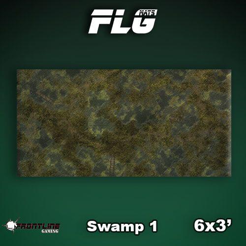 Frontline Gaming FLG Mats: Swamp 1 6x3'