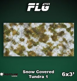 Frontline Gaming FLG Mats: Snow Covered Tundra 1 6x3'