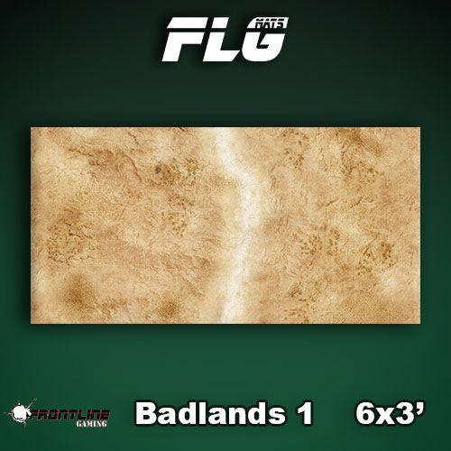 Frontline Gaming FLG Mats: Badlands 1 6x3'