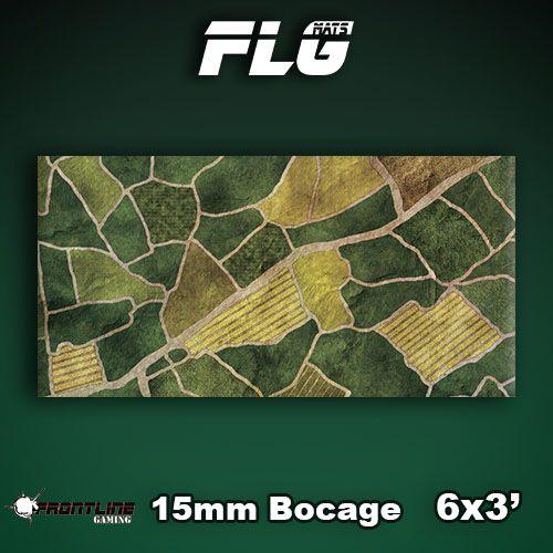 Frontline Gaming FLG Mats: 15mm Bocage 6x3'