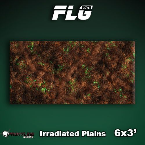 Frontline Gaming FLG Mats: Irradiated Plains 6x3'
