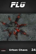 """Frontline Gaming FLG Mats: Urban Chaos 24"""" x 14"""""""