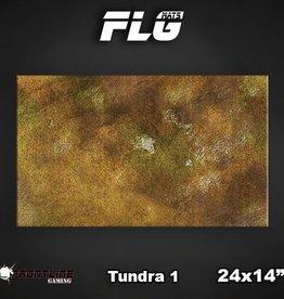 "Frontline Gaming FLG Mats: Tundra 24"" x 14"""