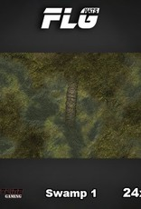 "Frontline Gaming FLG Mats: Swamp 24"" x 14"""