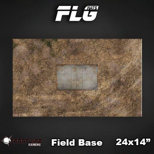 "Frontline Gaming FLG Mats: Field Base 24"" x 14"""