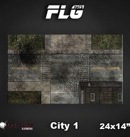"Frontline Gaming FLG Mats: City 24"" x 14"""