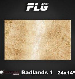 """Frontline Gaming FLG Mats: Badlands 24"""" x 14"""""""
