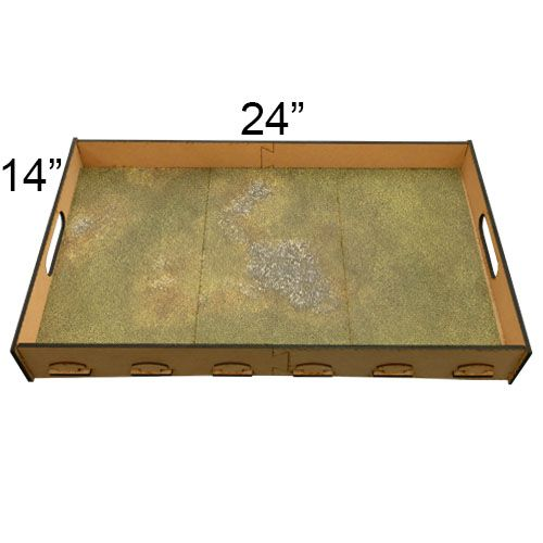 "Frontline Gaming FLG Mats: Ancient Alien Ruins Winter 24"" x 14"""