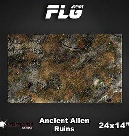"Frontline Gaming FLG Mats: Ancient Alien Ruins 24"" x 14"""