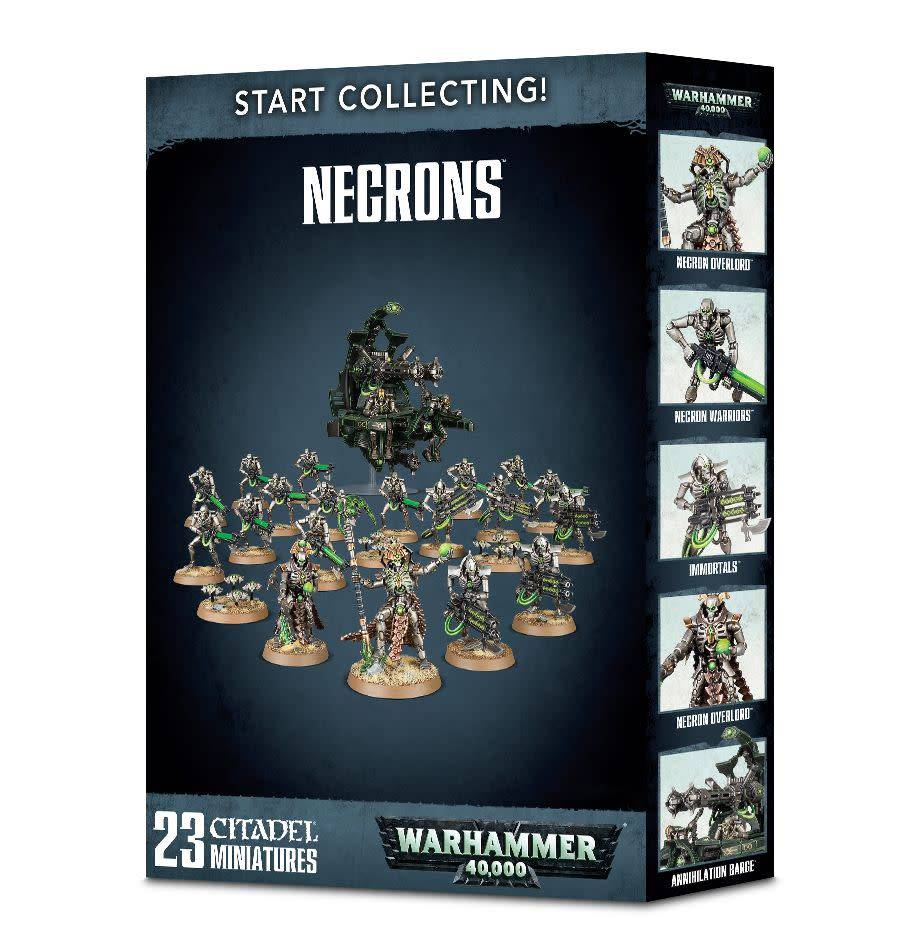 Games Workshop Start Collecting! Necrons