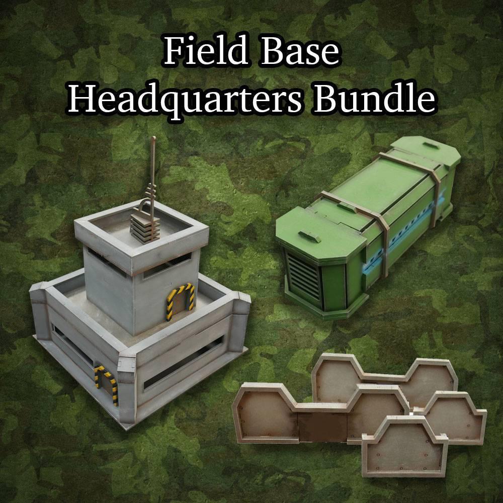 ITC Terrain Series: Field Base Headquarters Bundle
