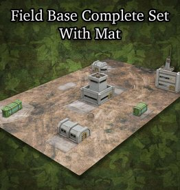 ITC Terrain Series: Field Base Complete Set With Mat