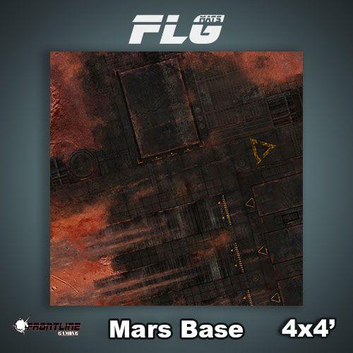 Frontline Gaming FLG Mats: Mars Base 4x4'