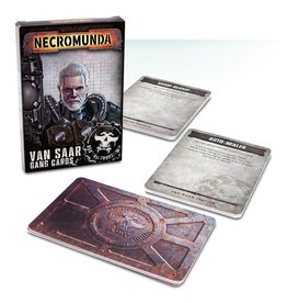 Games Workshop Van Saar Gang Cards