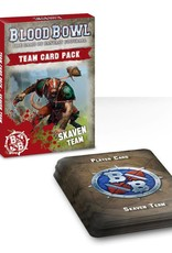 Games Workshop Blood Bowl Team Card Pack – Skaven