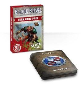 Games Workshop Blood Bowl Team Card Pack – Skaven